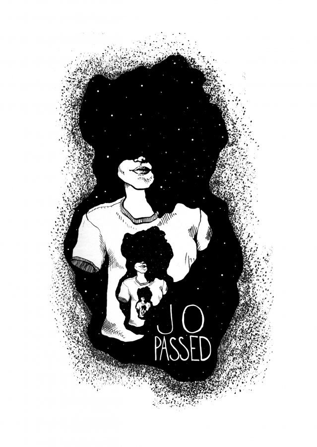 Jo Passed Shirt illustration | Eva Dominelli Illustration