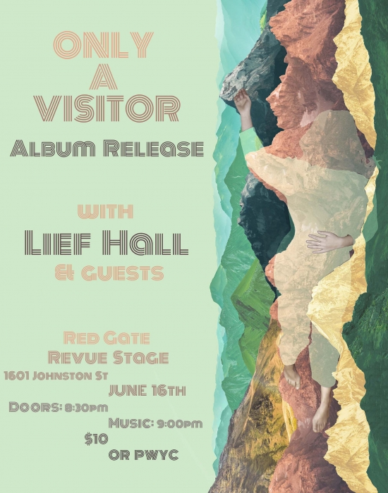 Only A Visitor Album Release Poster