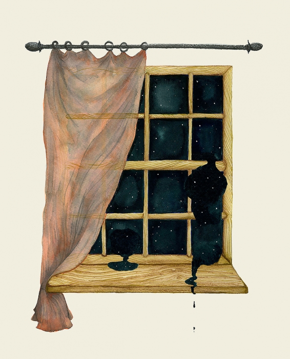 Window | Eva Dominelli Illustration