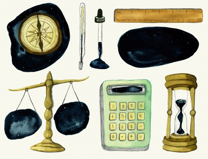 Instruments of Measurement | Eva Dominelli Illustration