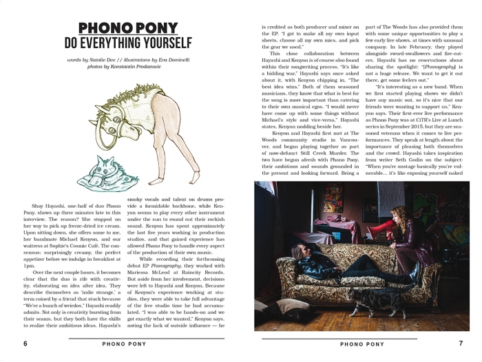 phono pony 2 | Eva Dominelli Illustration