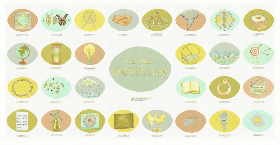 The Visual EnCYCLEpedia Illustration by Eva Dominelli