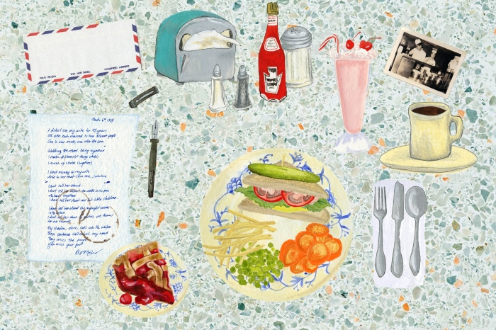 Diner | Eva Dominelli Illustration