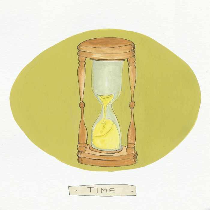 Time The Visual EnCYCLEpedia Illustration by Eva Dominelli