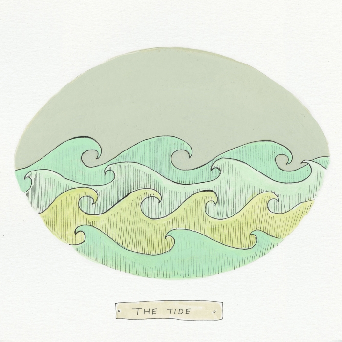 The Tide The Visual EnCYCLEpedia Illustration by Eva Dominelli