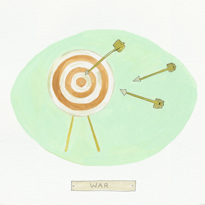 War The Visual EnCYCLEpedia Illustration by Eva Dominelli