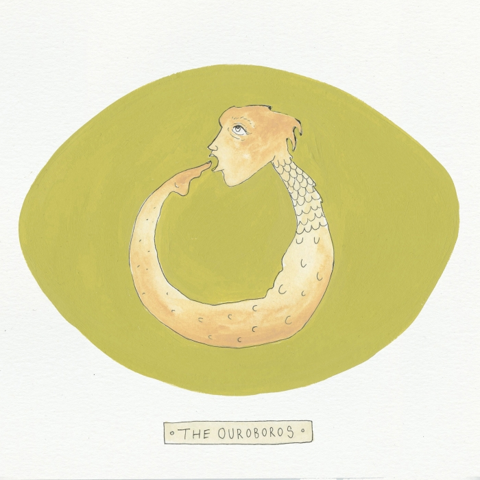 Ouroboros The Visual EnCYCLEpedia Illustration by Eva Dominelli