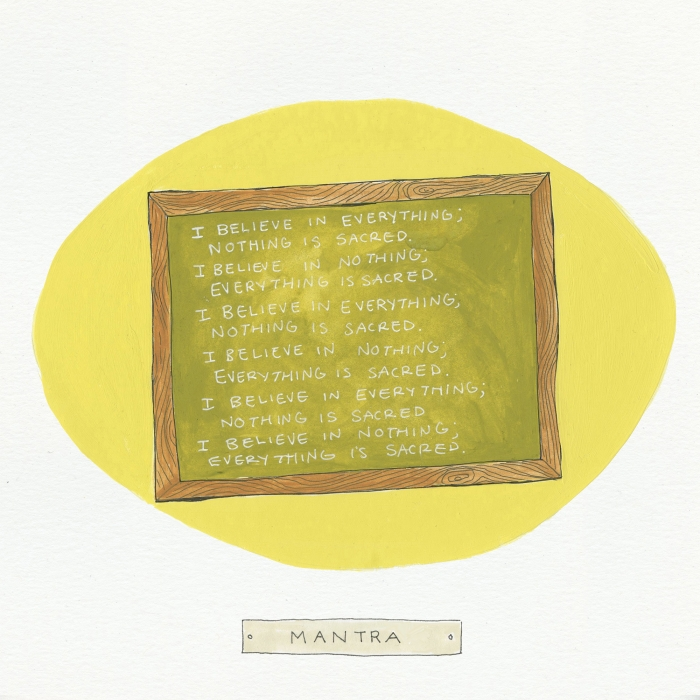Mantra The Visual EnCYCLEpedia Illustration by Eva Dominelli