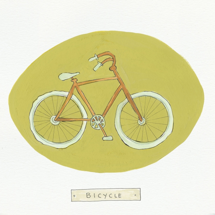 Bicycle The Visual EnCYCLEpedia Illustration by Eva Dominelli