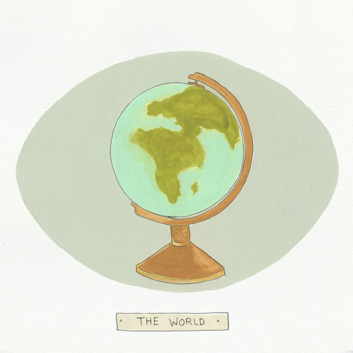 The World The Visual EnCYCLEpedia Illustration by Eva Dominelli